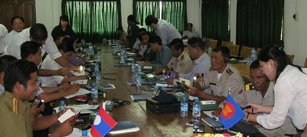 Officers from Lao PDR and Cambodia get training to boost cross-border cooperation