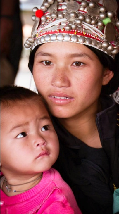Women and children are the most likely to be malnourished in Lao PDR. Photo: UNICEF Lao PDR